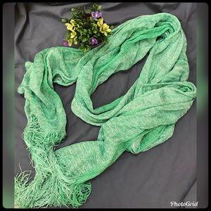 Beautiful Turquoise Green Wrap